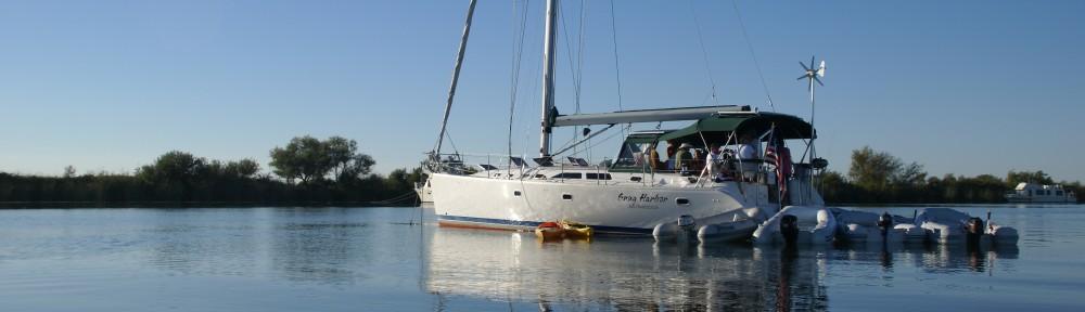 Sailing on Snug Harbor